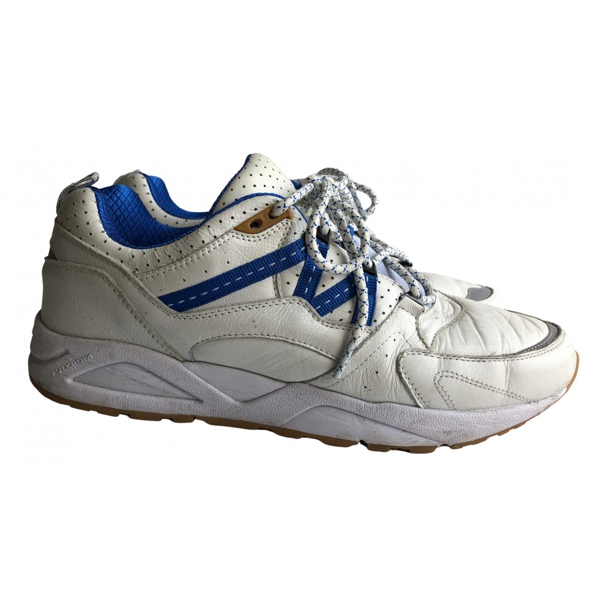 Karhu \N Sneakers in  Weiss Leder