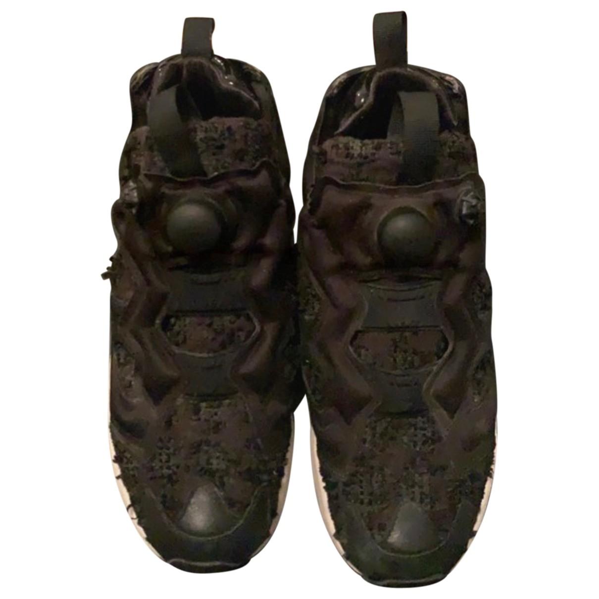 Reebok \N Sneakers in  Schwarz Synthetikpelz