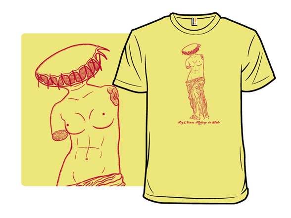 Venus Flytrap De Milo T Shirt