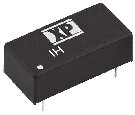 XP Power IH 2W Isolated DC-DC Converter Through Hole, Voltage in 21.6 → 26.4 V dc, Voltage out ±15V dc