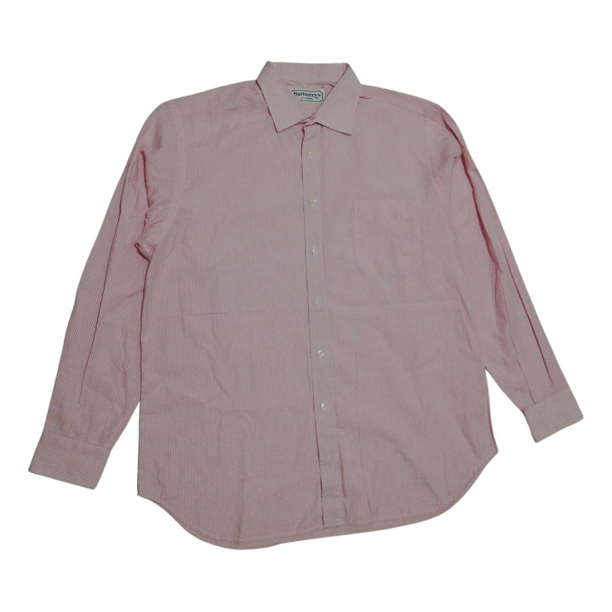 Burberry \N Multicolour Cotton Shirts for Men 42 EU (tour de cou / collar)
