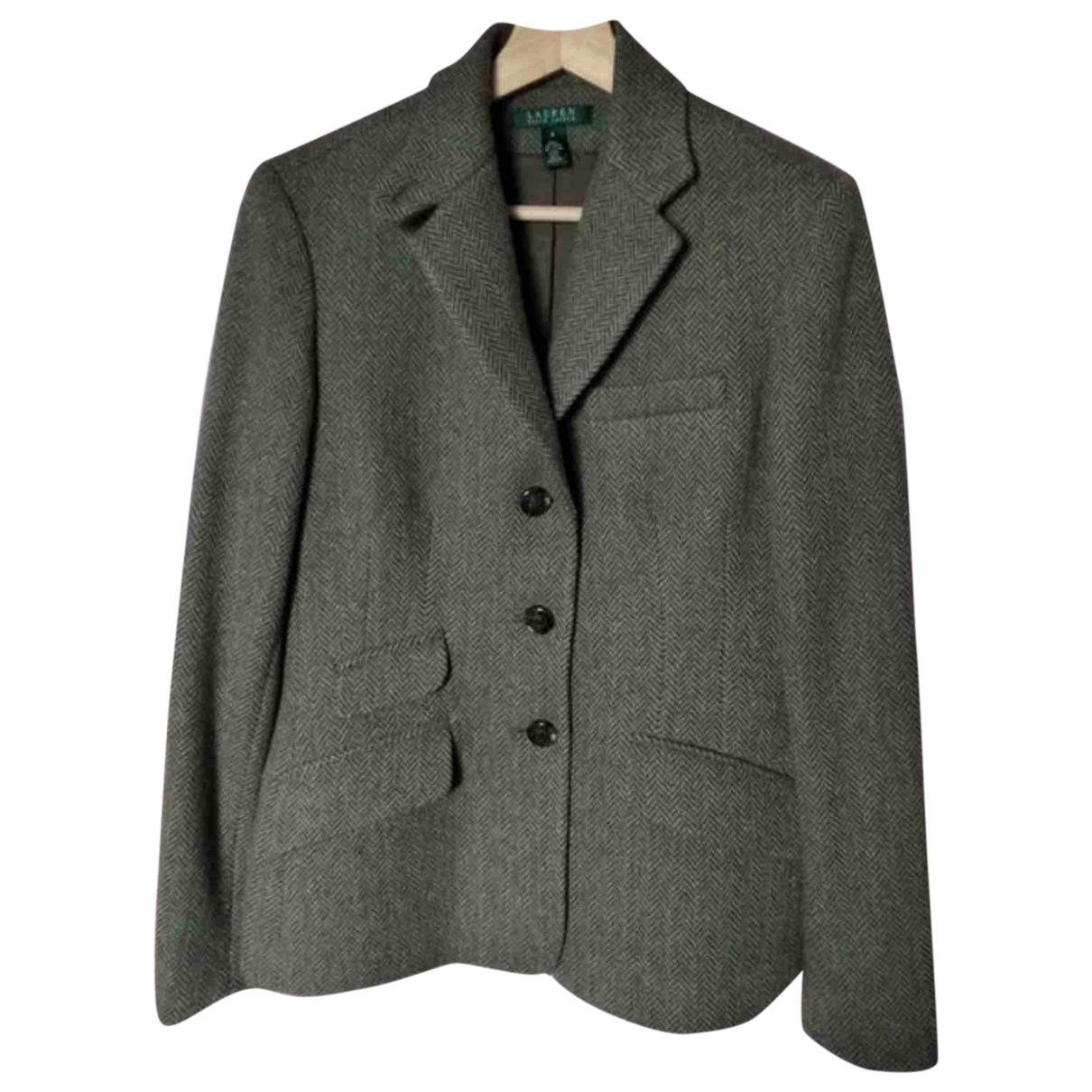 Lauren Ralph Lauren \N Green Wool jacket for Women M International