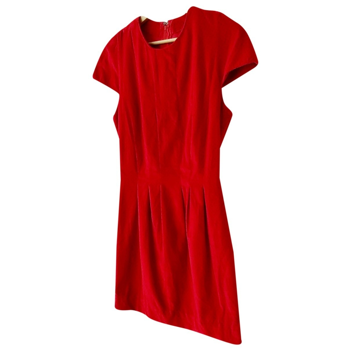 Non Signé / Unsigned \N Red Velvet dress for Women S International