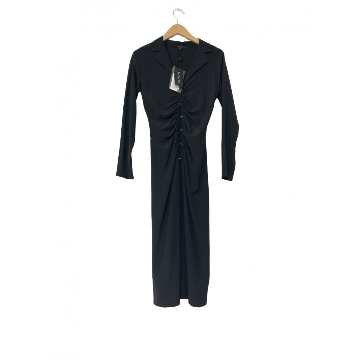 Gucci \N Black Silk dress for Women 32 FR