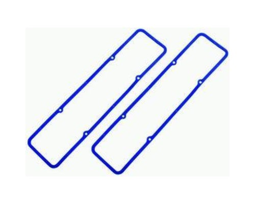 Racing Power Company R7484X Blue Rubber Valve Cover Gaskets Pair SB Chevrolet 1955-86