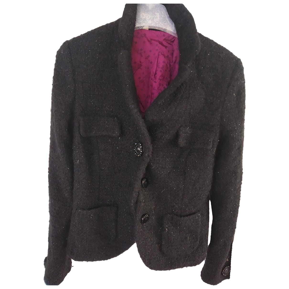 Liu.jo - Veste   pour femme en laine - metallise