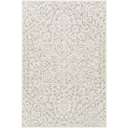 Kayseri KSR-2310 810 x 12 Rectangle Traditional Rug in Taupe  Beige
