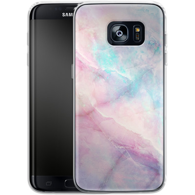 Samsung Galaxy S7 Edge Silikon Handyhuelle - Iridiscent von Emanuela Carratoni