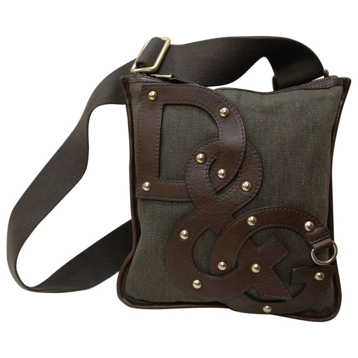 D&g \N Brown Cloth handbag for Women \N