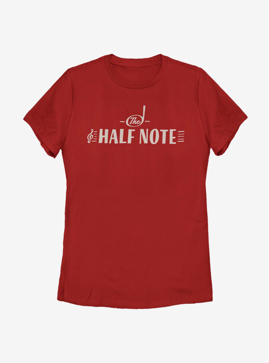 Disney Pixar Soul The Half Note Womens T-Shirt