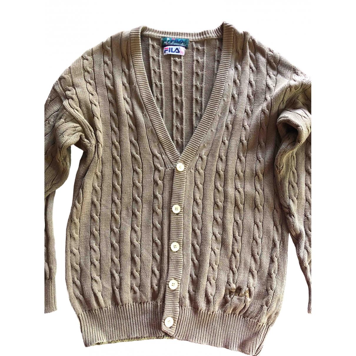 Fila \N Khaki Cotton Knitwear & Sweatshirts for Men 50 IT