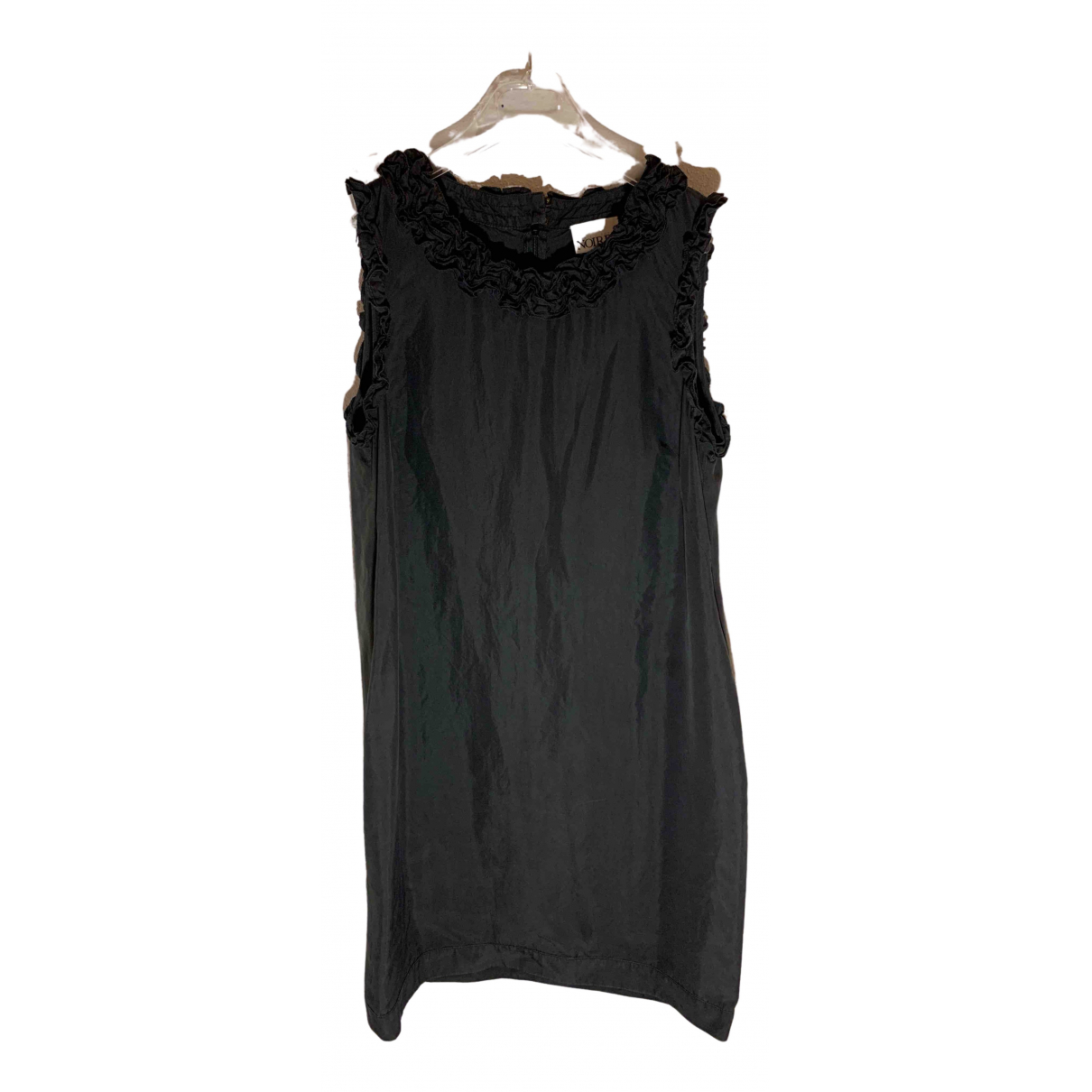 Non Signé / Unsigned N Black Silk dress for Women 40 IT