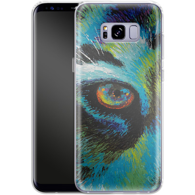 Samsung Galaxy S8 Plus Silikon Handyhuelle - Will Cormier - Tiger Eyes von TATE and CO