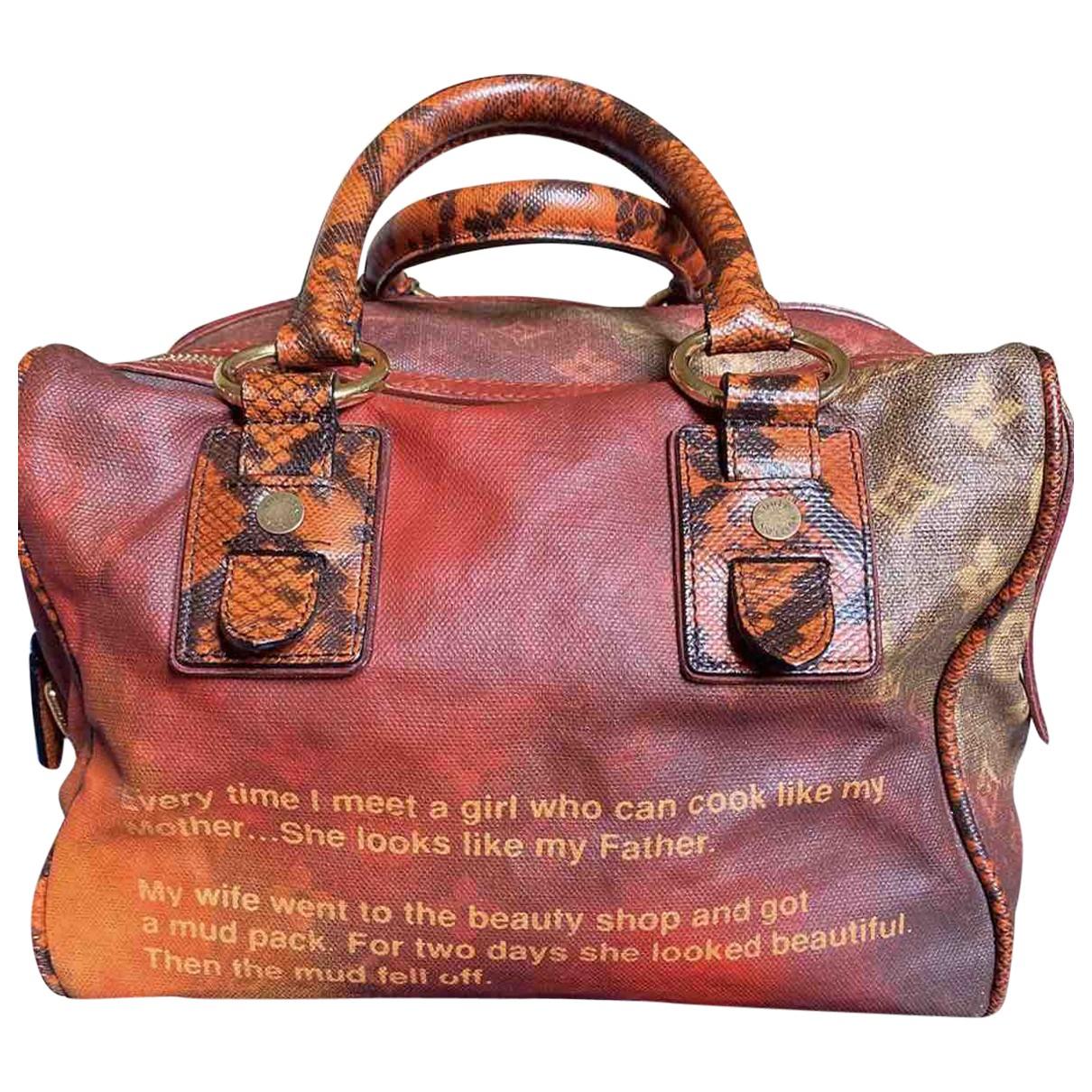Louis Vuitton \N Handtasche in  Bunt Python