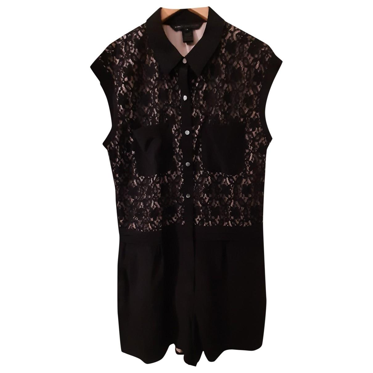 Marc By Marc Jacobs - Combinaison   pour femme en soie - noir