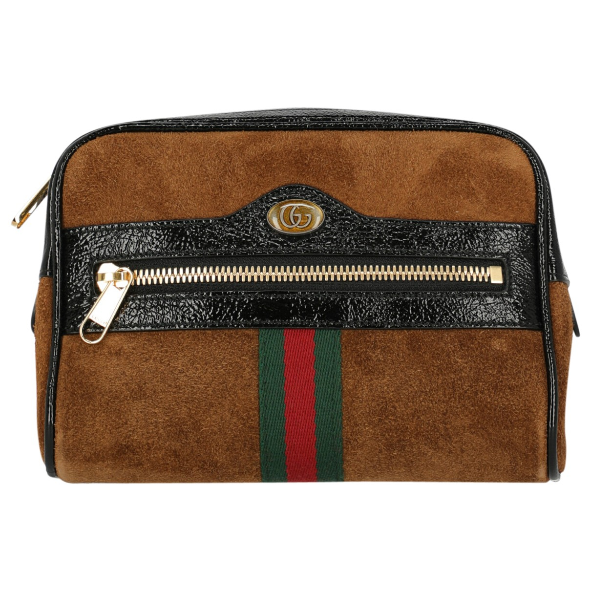 Gucci Ophidia Brown Leather handbag for Women \N