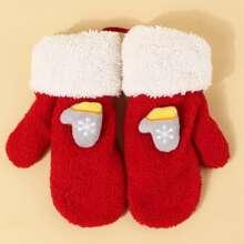 Girls Christmas Gloves