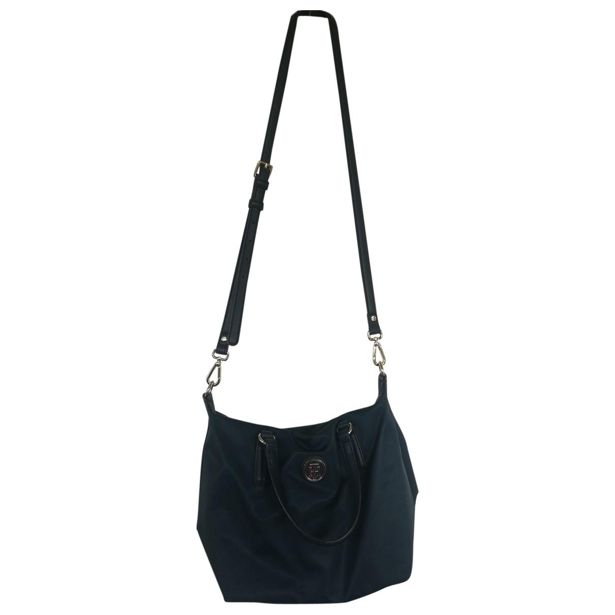 Tommy Hilfiger \N Handtasche in  Blau Synthetik