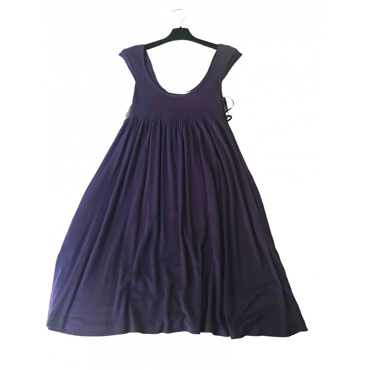 Diane Von Furstenberg \N Purple Cotton dress for Women 6 US
