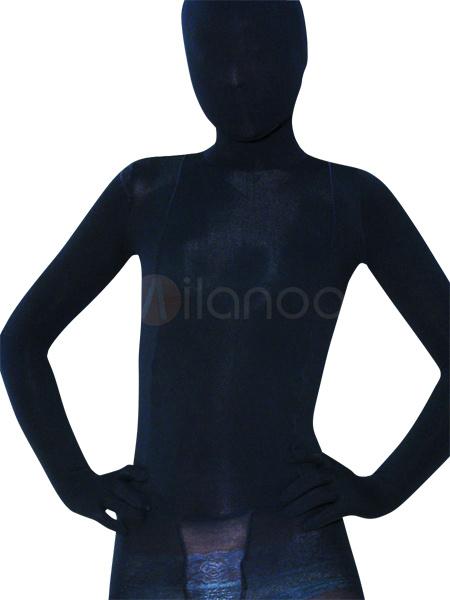 Milanoo Disfraz Halloween Negro Unisex Zentai Halloween Entero Body Disfraz Cosplay Halloween