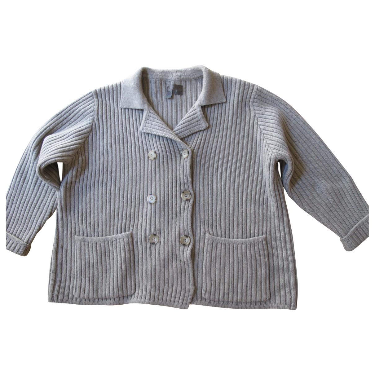 Jigsaw - Pull   pour femme en laine - marron