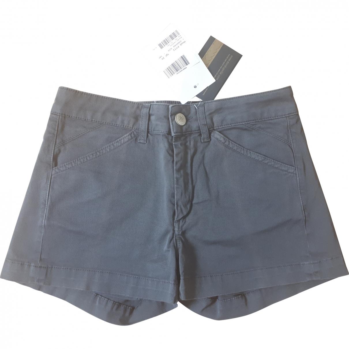 Dondup \N Brown Cotton - elasthane Shorts for Women XS International