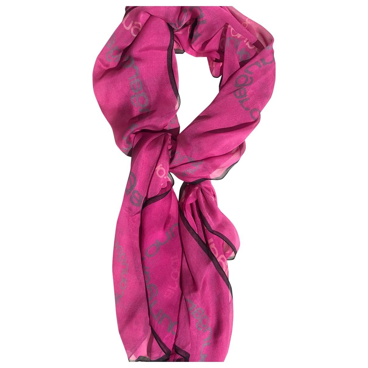 Emanuel Ungaro - Foulard   pour femme en soie - rose