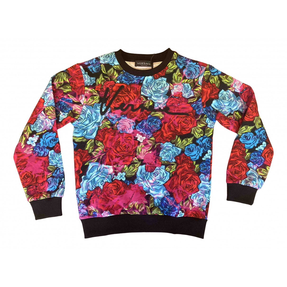 Versace N Multicolour Cotton Knitwear for Kids 10 years - up to 142cm FR