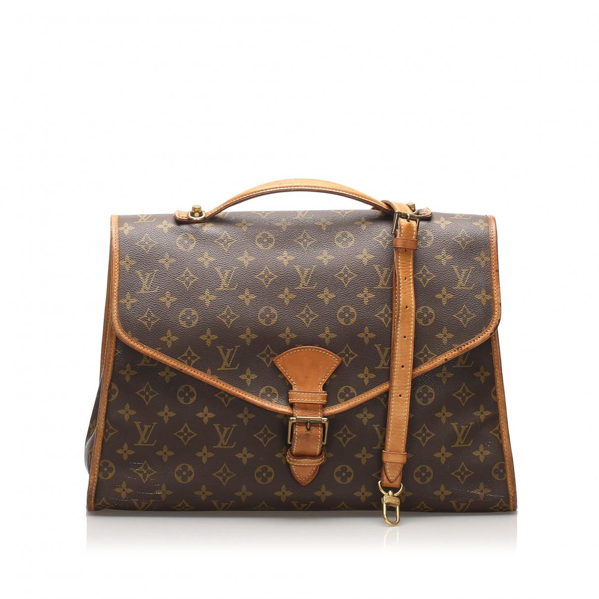 Louis Vuitton Beverly Brown Cloth handbag for Women N