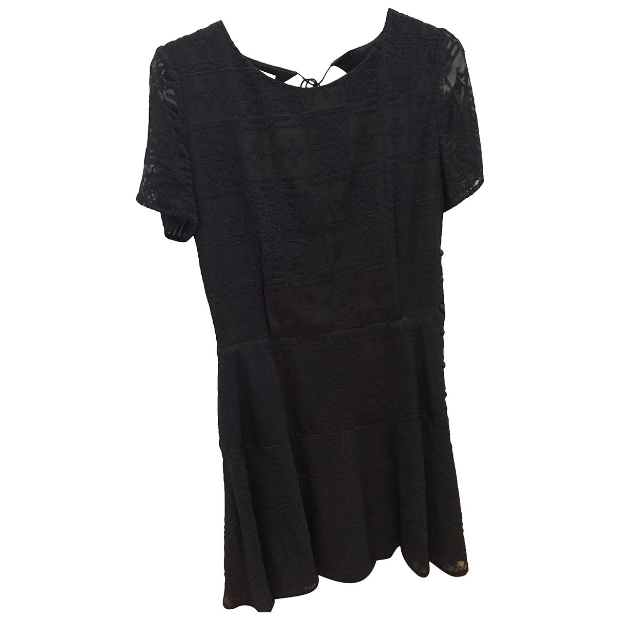 Sessun - Robe   pour femme en soie - marine