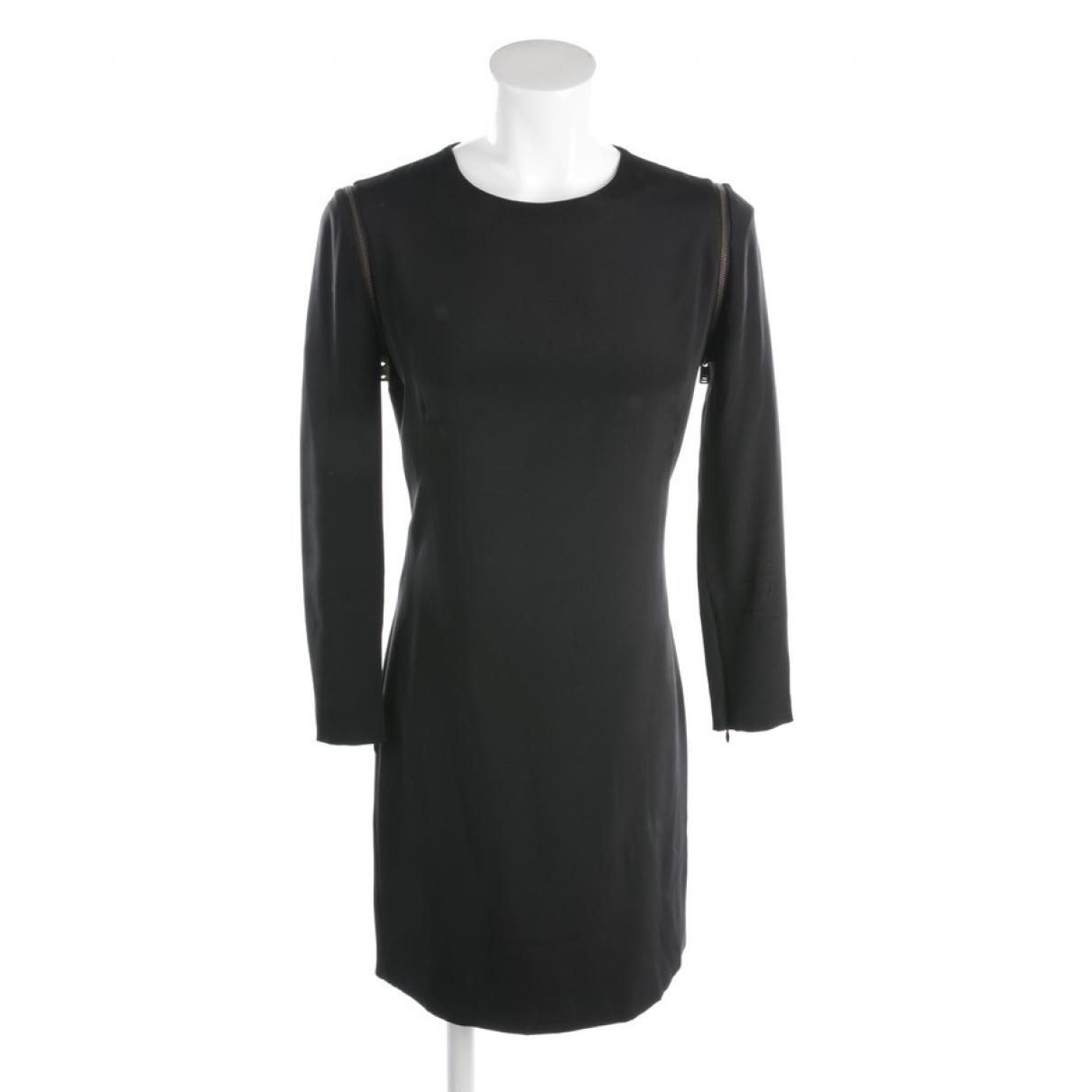 Mcq \N Black Silk dress for Women 36 FR