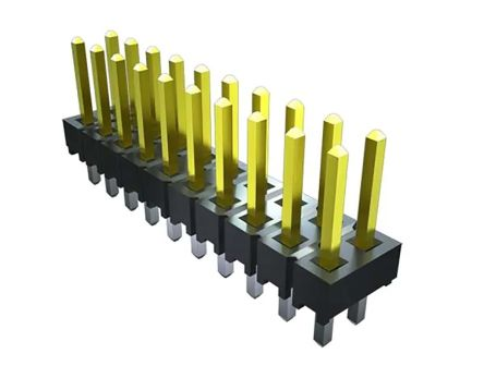 Samtec , TSW, 2 Row, Vertical PCB Header