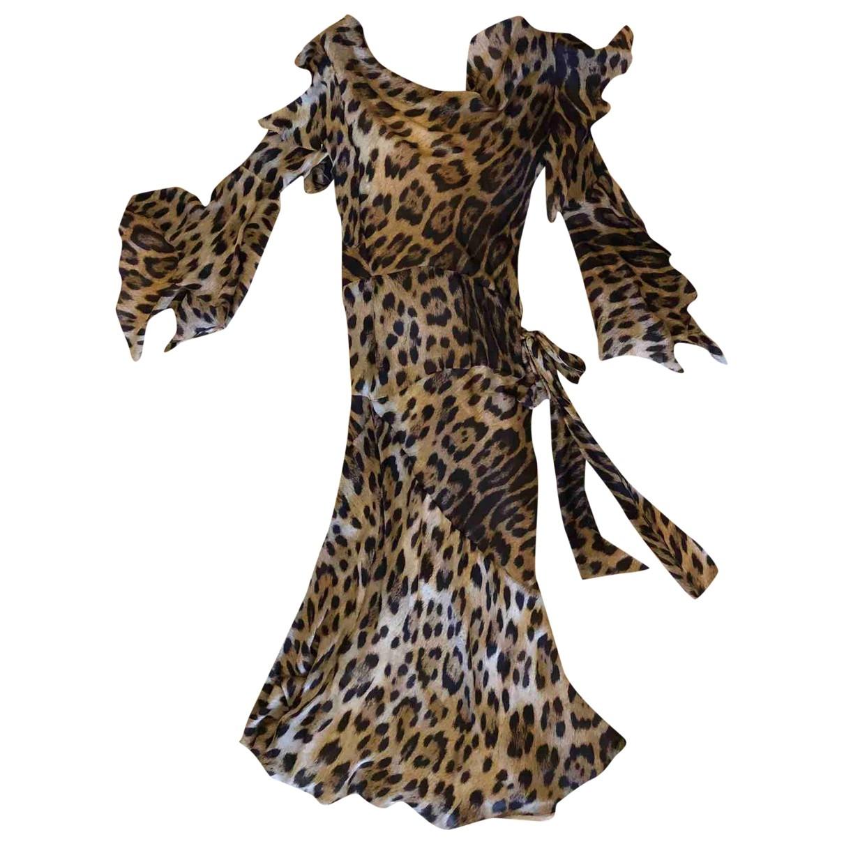 Roberto Cavalli \N Kleid in Seide