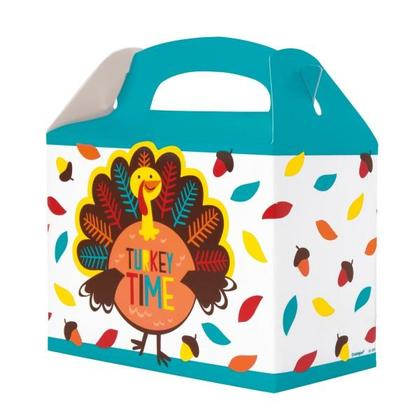 Cartoon Turkey Take Home Containers, 4ct