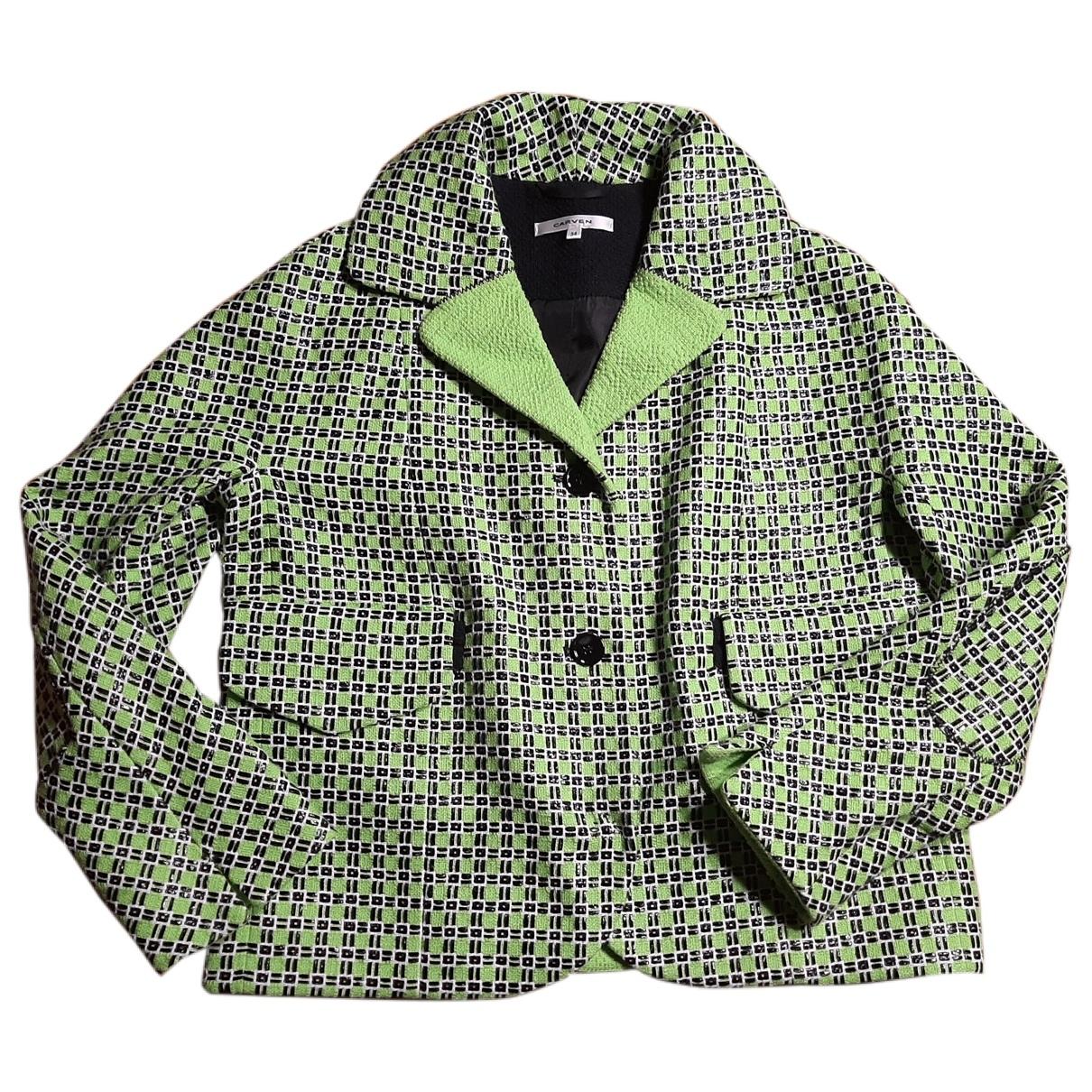 Carven - Veste   pour femme en coton - multicolore