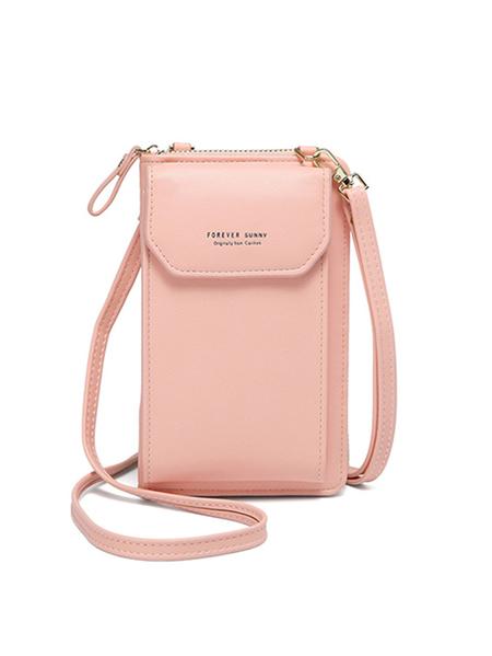Yoins Casual Zip Design Adjustable Strap Clutch Bag