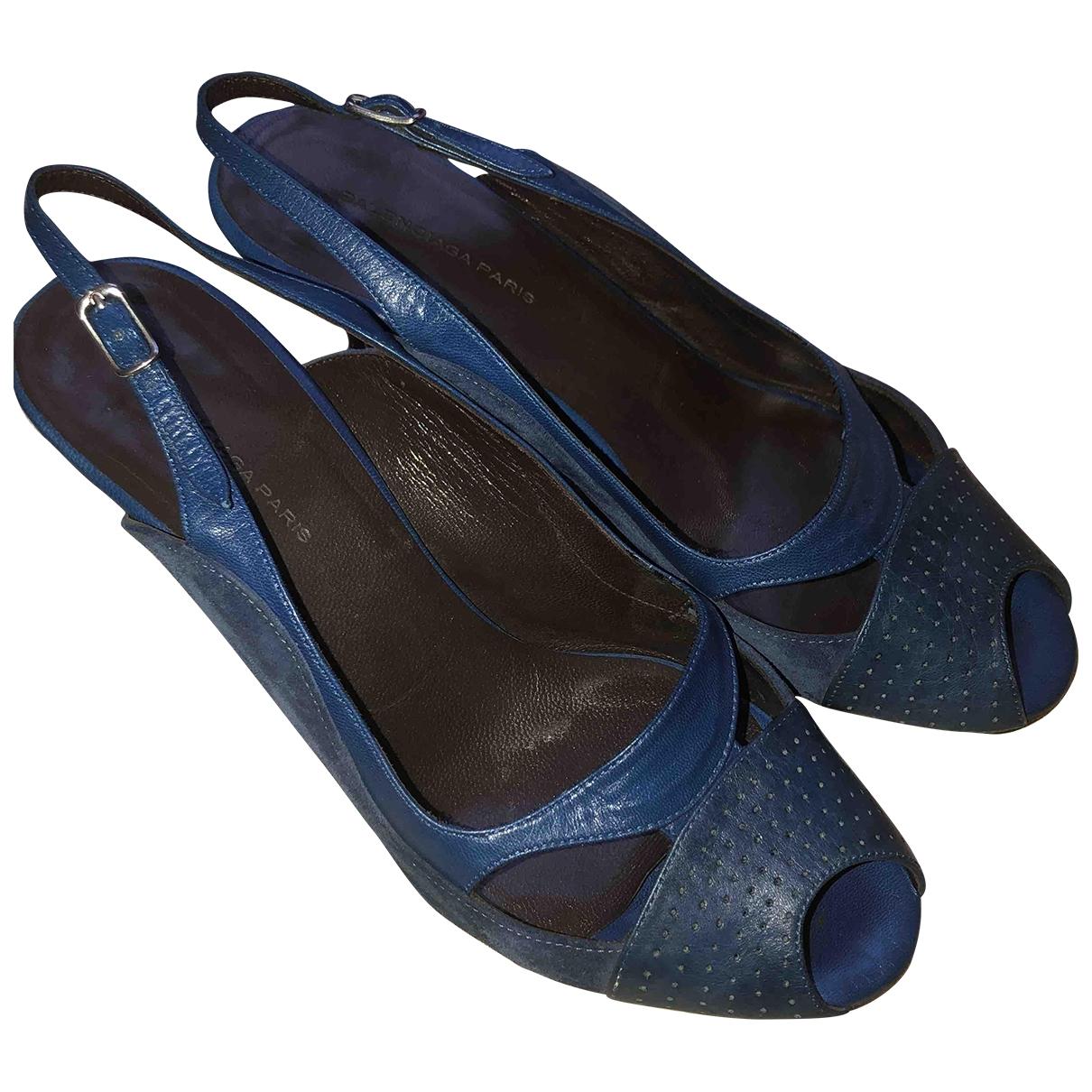 Sandalias de Cuero Balenciaga