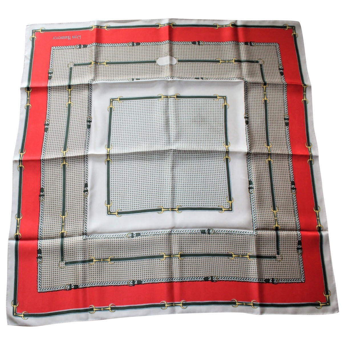 Non Signé / Unsigned \N Multicolour Silk scarf for Women \N