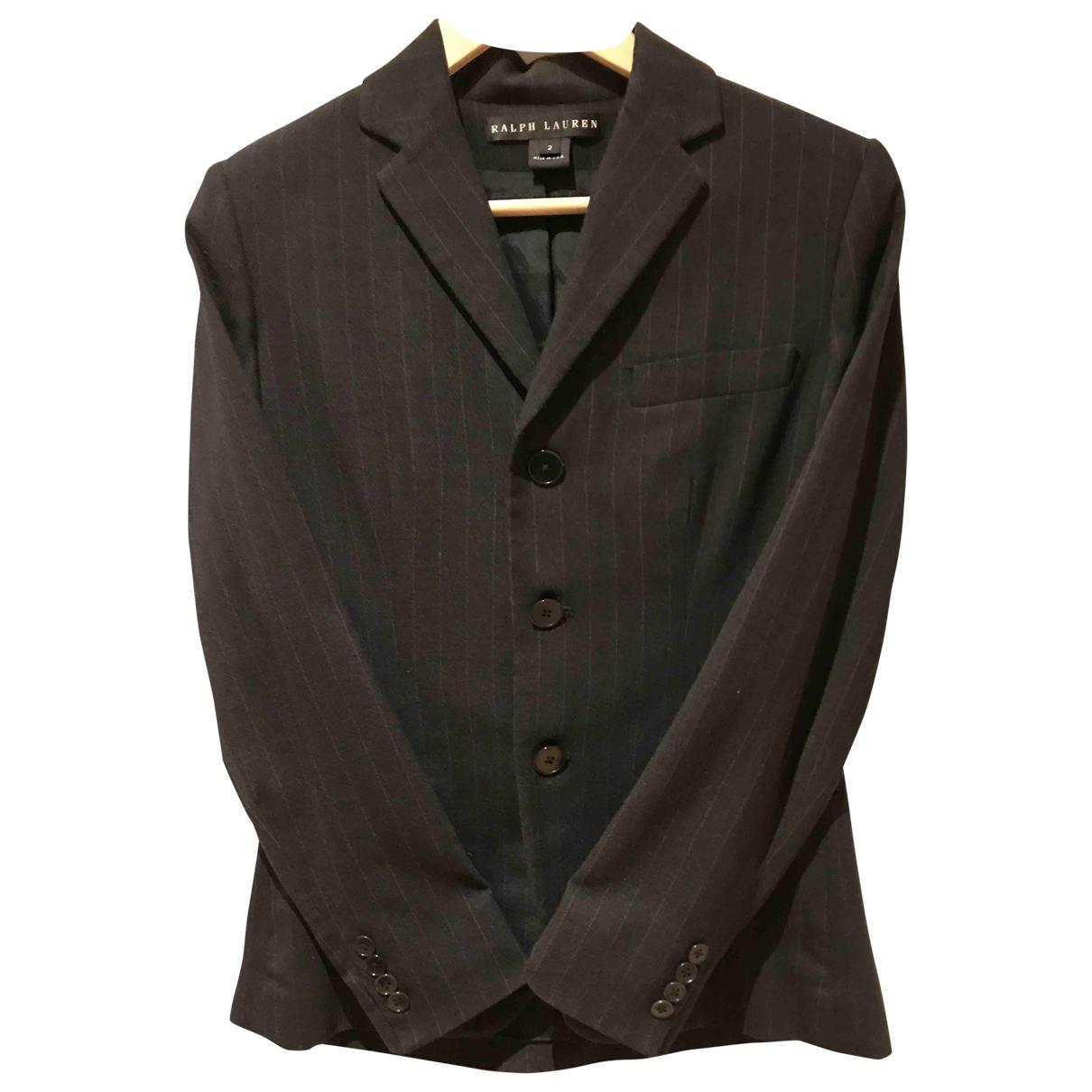 Ralph Lauren \N Grey Wool jacket for Women 2 US