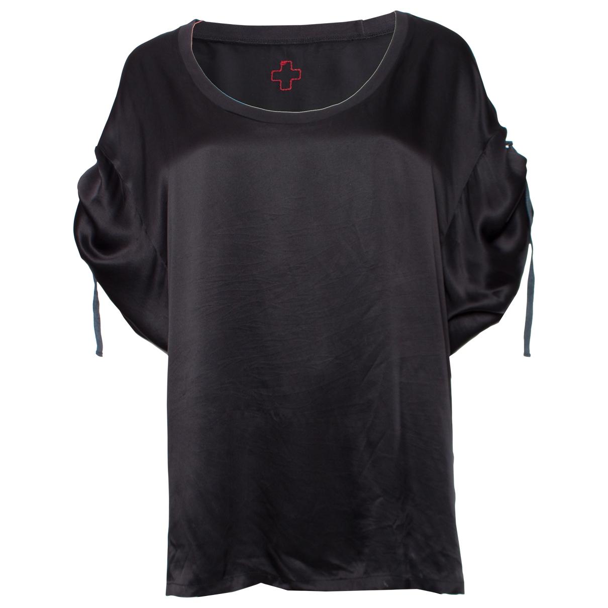 Af Vandevorst - Top   pour femme en coton - noir