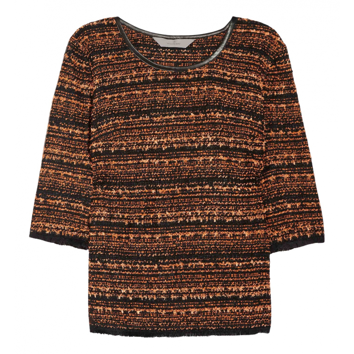 Mulberry \N Top in  Orange Polyester