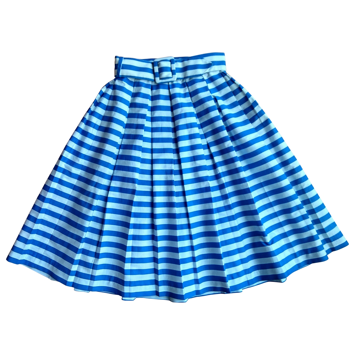 Cacharel \N Blue Cotton skirt for Kids 8 years - up to 128cm FR