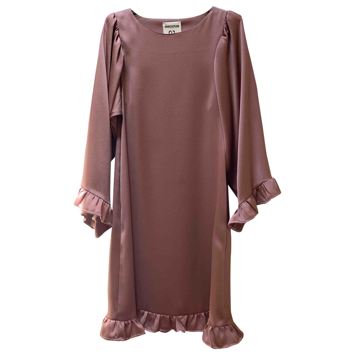 Semicouture \N Pink dress for Women 38 IT