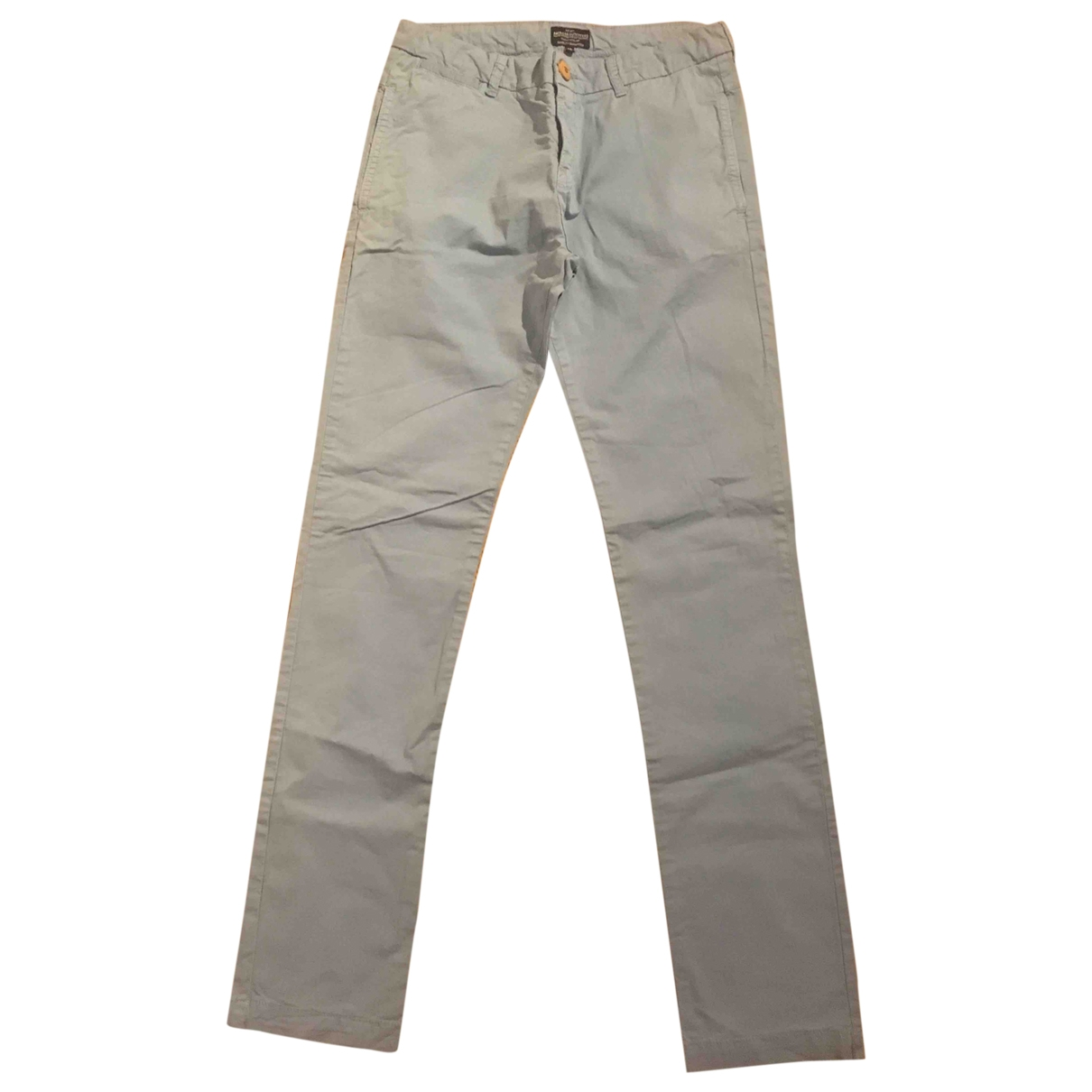 American Outfitters \N Turquoise Cotton Trousers for Kids 16 years - M UK