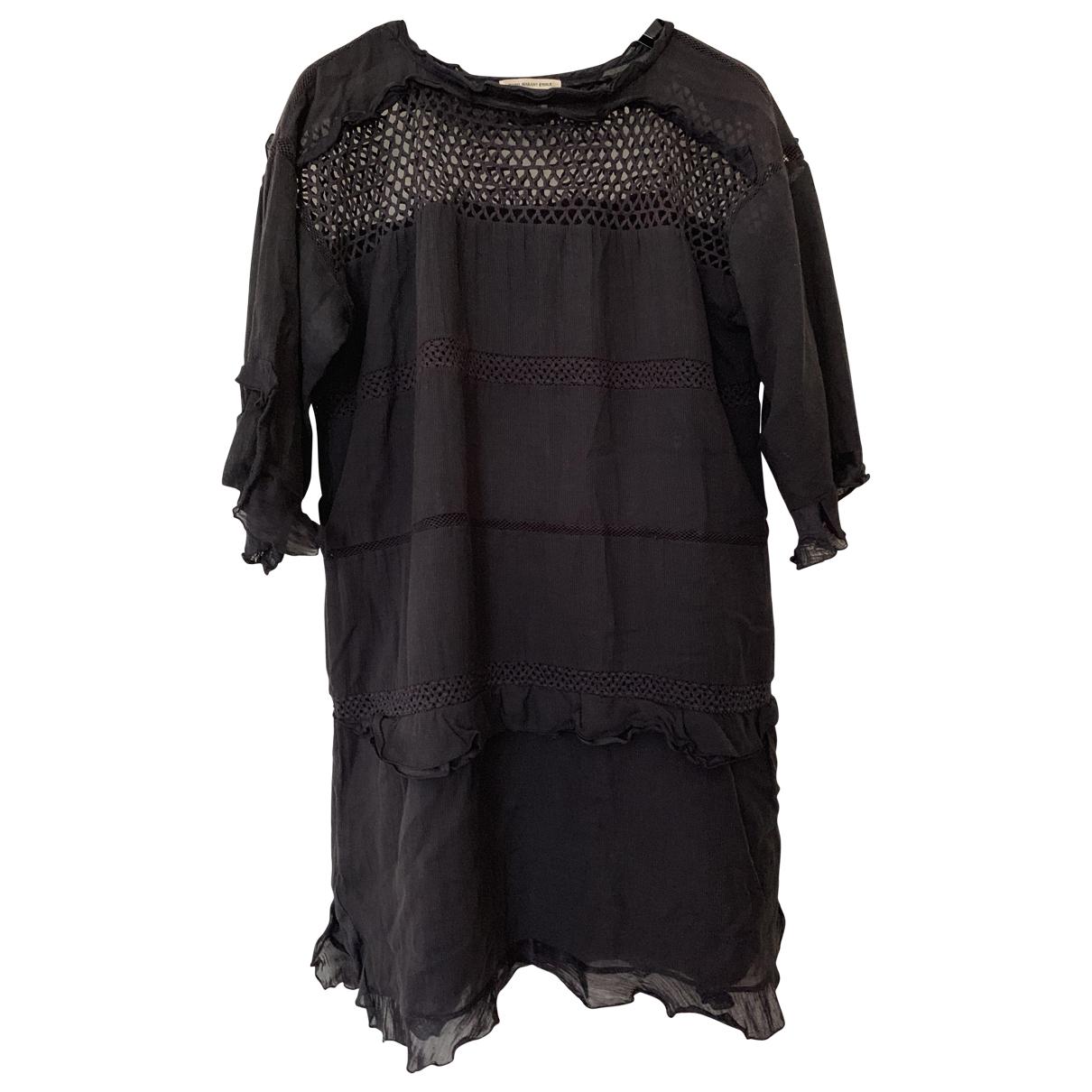 Isabel Marant Etoile \N Black Cotton dress for Women 34 FR