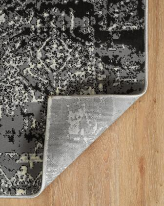 RUGER0481 8 x 10 Rectangle Area Rug in
