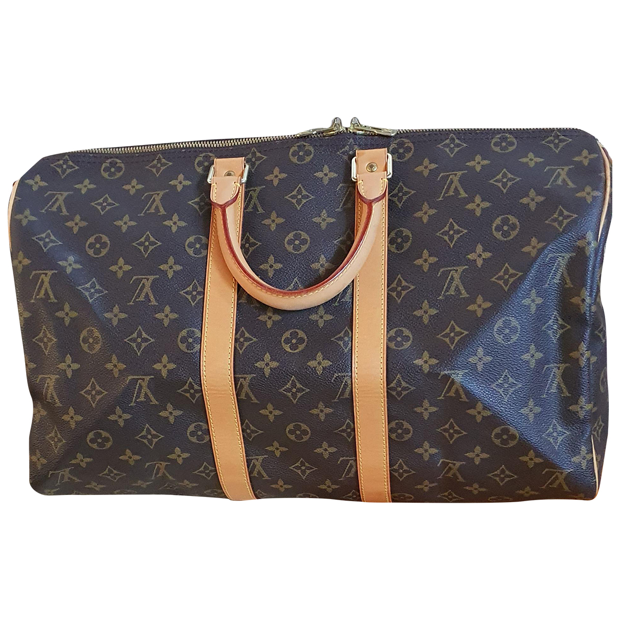 Louis Vuitton Keepall Multicolour Leather Travel bag for Women N