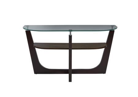 T332-05 Four-Points Glass Top Sofa/Console Table  in