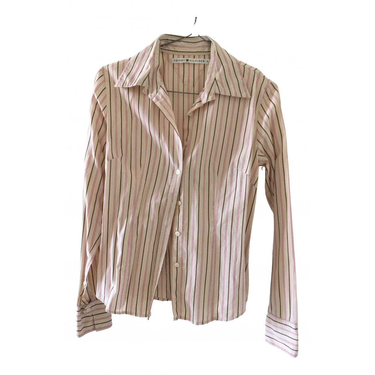 Tommy Hilfiger \N Pink Cotton  top for Women 6 UK