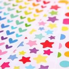 1pack Geometric Pattern Sticker